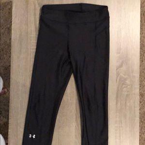 UA women's crop athletic pants